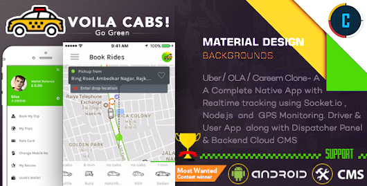 Download Source code Taxi Booking App - A Complete Clone of UBER with User,Driver & Backend CMS Coded with Native Android nulled | OXO-NULLED