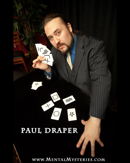 Ep. 43- Mentalist, Magician & Anthropologist Paul Draper
