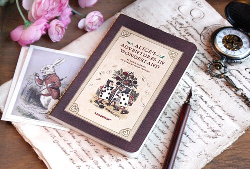 alice in wonderland, book, cute, letter, pink, rabbit, vintage