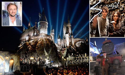 The new magical kingdom: Harry Potter World opens in Hollywood
