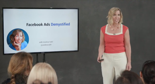 Facebook Ads Demystified - Andrea Vahl