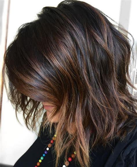 hair highlights  lowlights short hairstyle