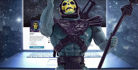 Skeletor Walks Us Through His #Skeletakeover of the Honda Twitter Account - The News Wheel