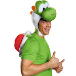 Disguise Inc. Super Mario Bros Yoshi Adult Kit, Green, One Size