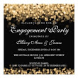 20 Party Lights Engagement Party Invitations