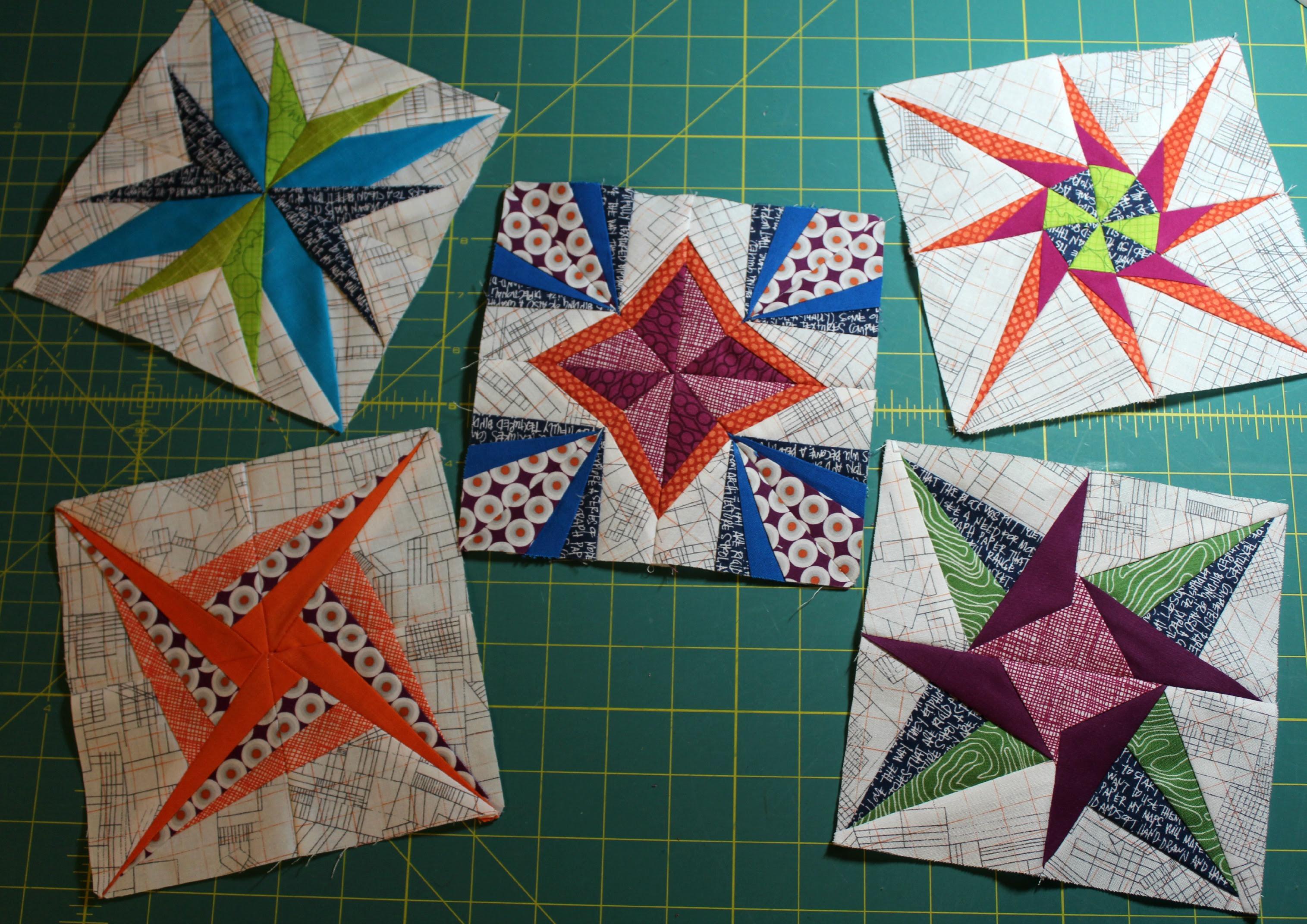 Lucky Stars BOM 1-5