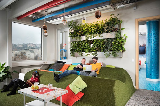 The Google Office In Budapest By Graphasel Design Studio