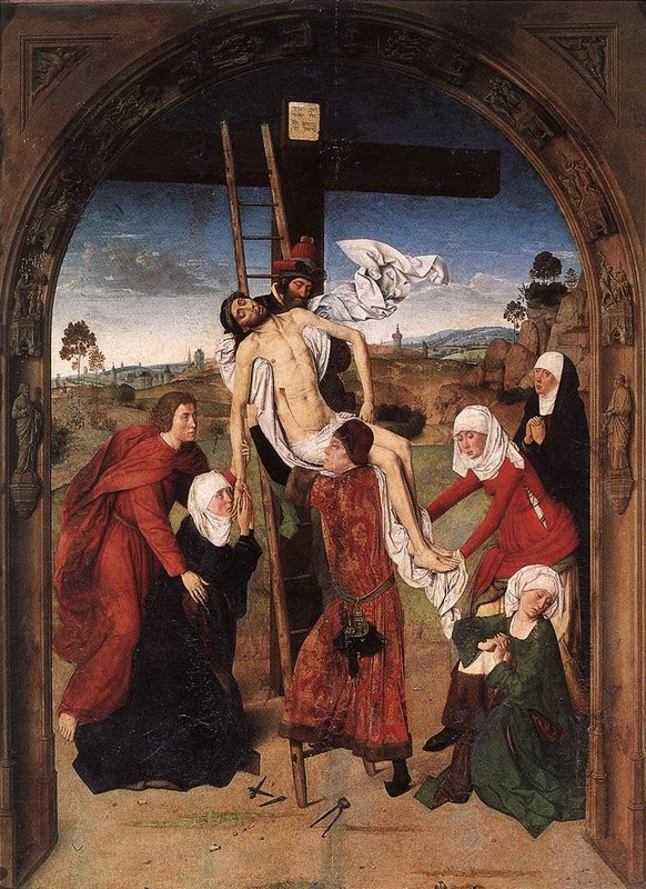 """Descendimiento de la cruz"" de Dierik Boust"