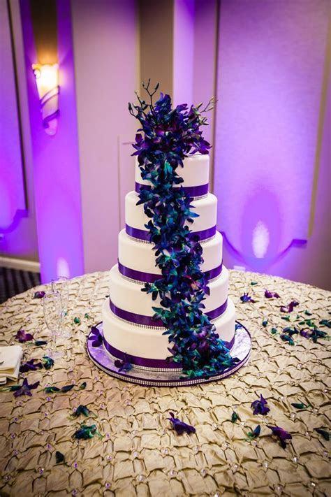 Purple & Teal Wedding ? 04.20.13   Peacock Wedding Dresses