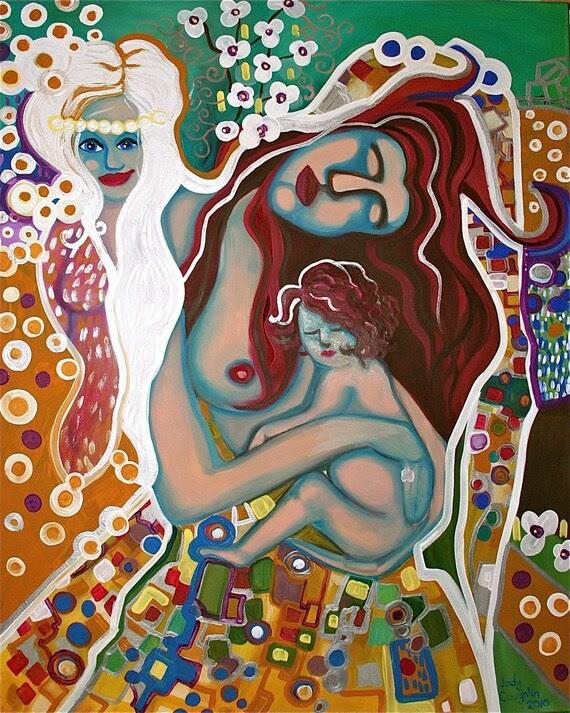 As We Grow Older Original Painting