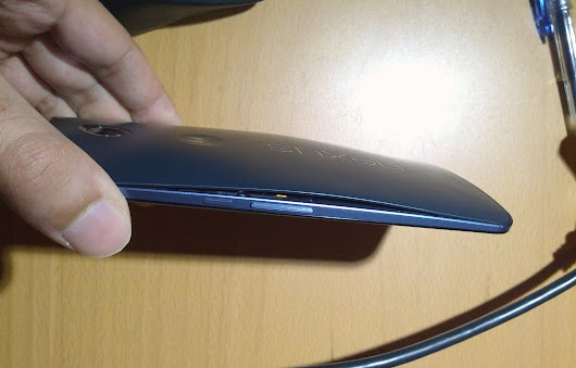 Some Nexus 6 owners receiving defective units where the back cover is coming unglued