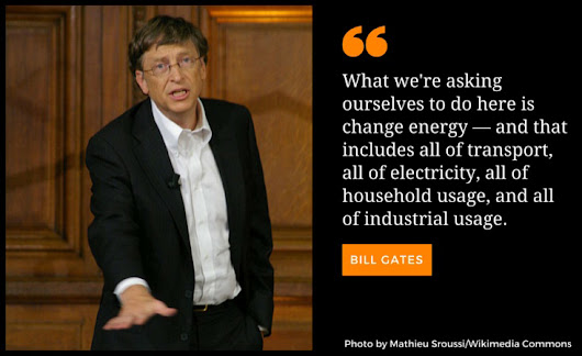 "The Future of Renewable Energy with Bill Gates reported by the CHINA-US Club | Theodore ""Ted"" Venners  温立斯"