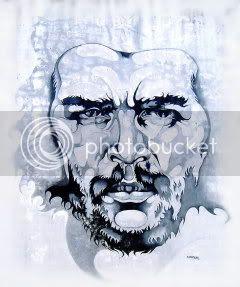 Che Guevara mural in Rosario