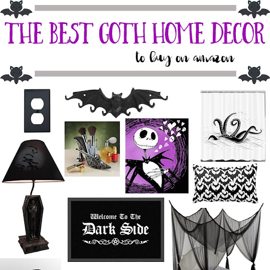 Home Decor: The Best Goth Home Decor on Amazon