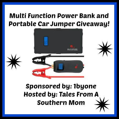 Enter the Multi Function Powerbank and Portable Car Jumper Giveaway. Ends 3/23