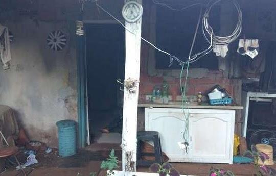 Marina foi morta a facadas pelo filho e teve o corpo queimado porque negou R$ 10 a ele   Foto: Dourados News