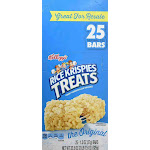 Kellogg's Rice Krispies Treats (1.3 oz., 25 ct.)