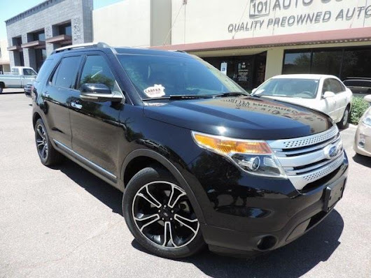 Used 2012 Ford Explorer XLT FWD for Sale in Phoenix AZ 85027 101 Auto Outlet
