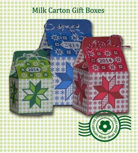 Printable Milk Carton Gift Boxes   AllFreePaperCrafts.com