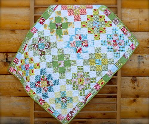 Verna Granny Square Baby Quilt