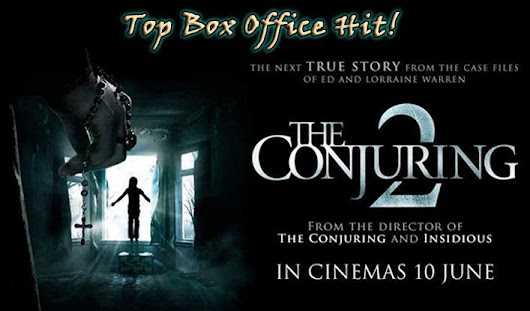 The Conjuring 2 is #1 All Time Horror Film - Australian & New Zealand Box Offices | HORROR PALACE™