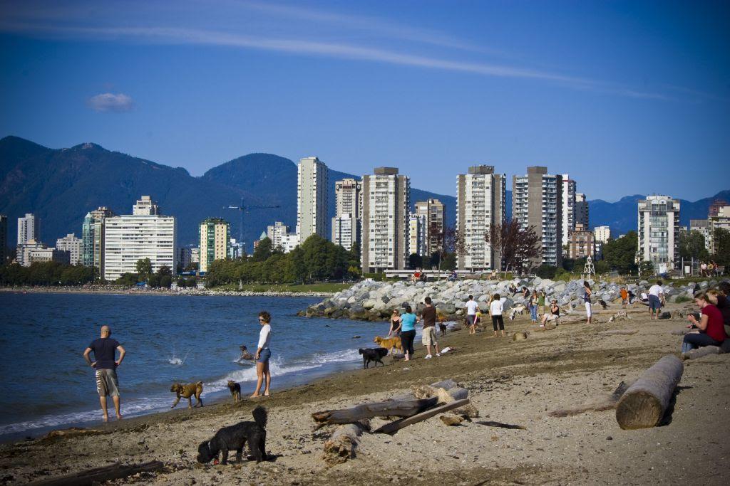 Kitsilano Walk Vancouver Canada