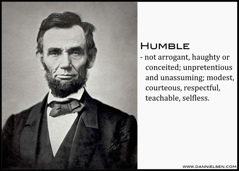 Learning From Lincoln Humility In Leadership Dan Nielsen