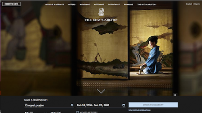 Ritz-Carlton responds to consumer desires with redesigned Web site - Luxury Daily - Multichannel