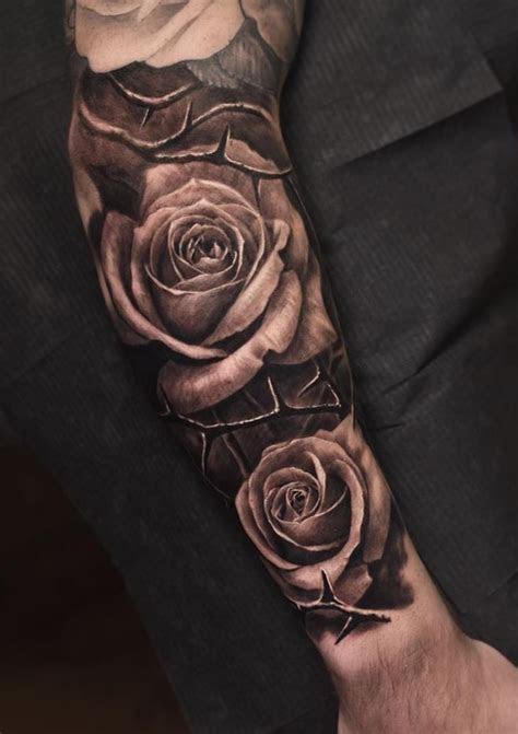 black gray roses tattoo rose tattoos tattoos tattoo