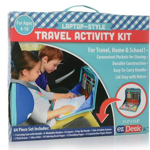 EZDesk Travel Activity Kit Laptop Style