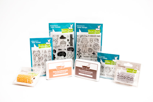 Adorable Woodland Creatures Fall Stamp Set Giveaway