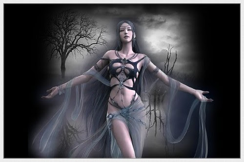 dark Mystical Magic Glitter Graphics Fantasy