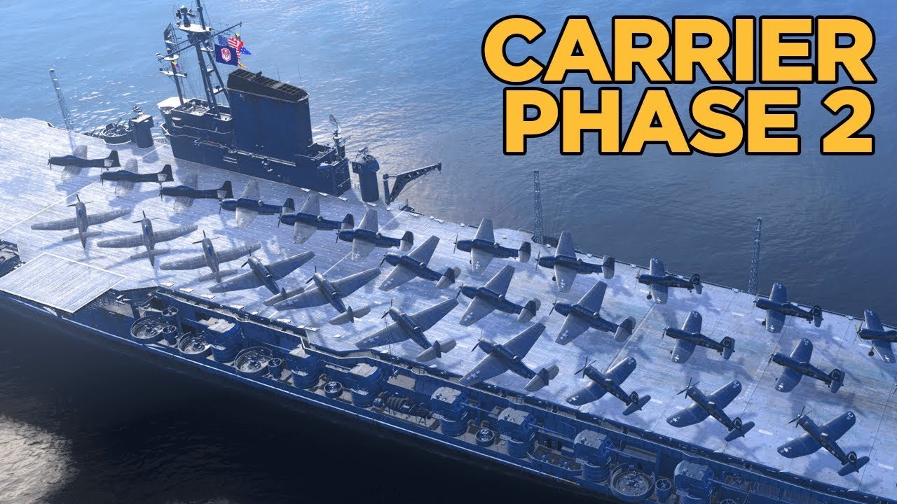 PTS 0.8.0 Phase 2 Carrier Gameplay Discussion - World of Warships
