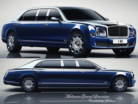Bentley Mulsanne Grand Limousine By Mulliner Motors Master
