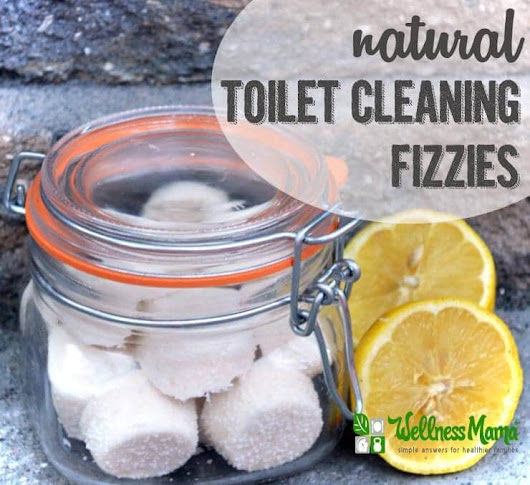 Natural Toilet Cleaning Fizzies - Wellness Mama