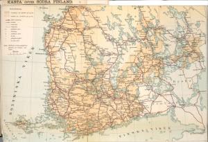 Karta öfver Södra Finland. Digital ID: 1260992. New York Public Library