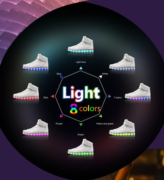 "Bright Shoes on Twitter: ""5 led products including hats, shoes, and mask to wear at your next party  """