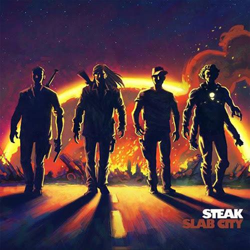 Steak 'Slab City' Artwork