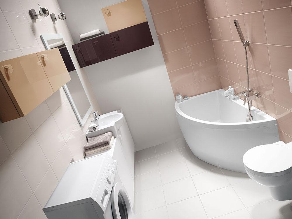 Jak urządzć małą łazienkę? | W JAK WNĘTRZE