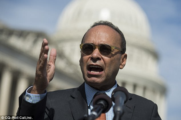 Rep. Luis Gutierrez said Sunday that Donald Trump's latest immigration proposals are an 'extension of the white supremacist agenda'