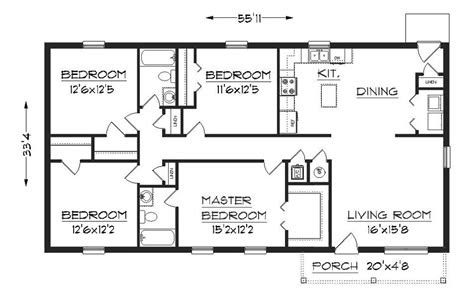 simple  floor house plans plan  floor plan