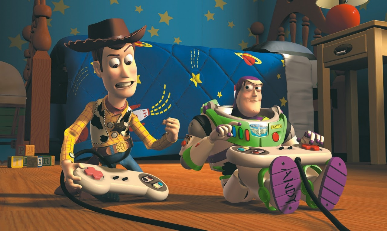 Does Kingdom Hearts III compare to the original Toy Story? screenshot