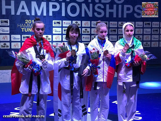 WT Junior Championships and WT Qualification Tournament in Youth Olympic Games 2018 - Taekwondo WTF Centr-Vostok