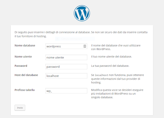 Come creare blog wordpress