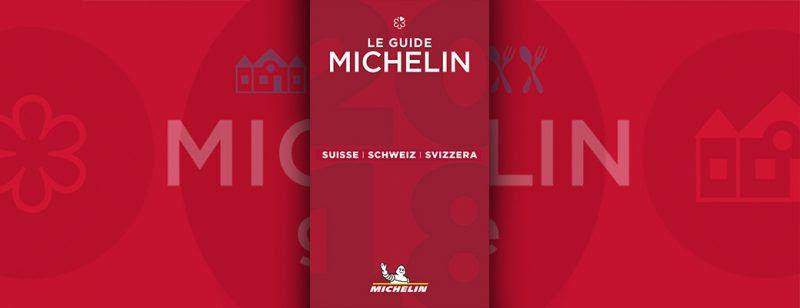 Michelin Suisse 2018 3 établissements 3 étoiles 2
