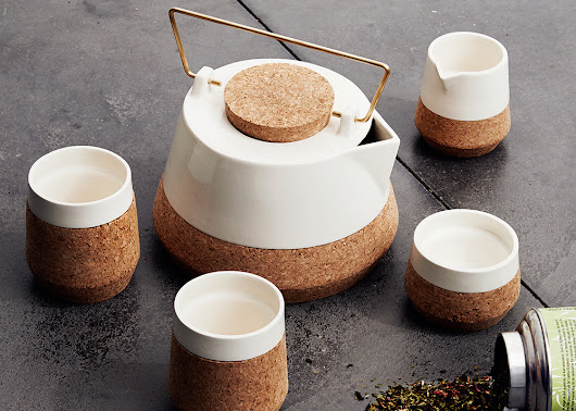 Danish Studio FEM's Koruku Tea Set Enhances One of Life's Simplest Pleasures