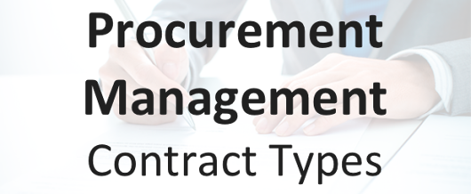 Procurement Management Contract Types | Ten Six Consulting