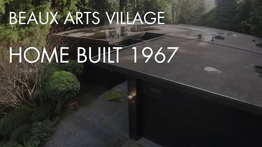Beaux Arts Village 1967 , repaint 2015