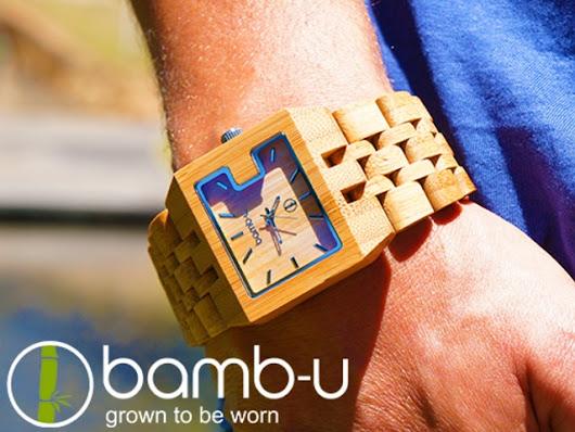 bamb-u watches - beautiful, natural, precise by Bol Varga and Adam McLeod — Kickstarter
