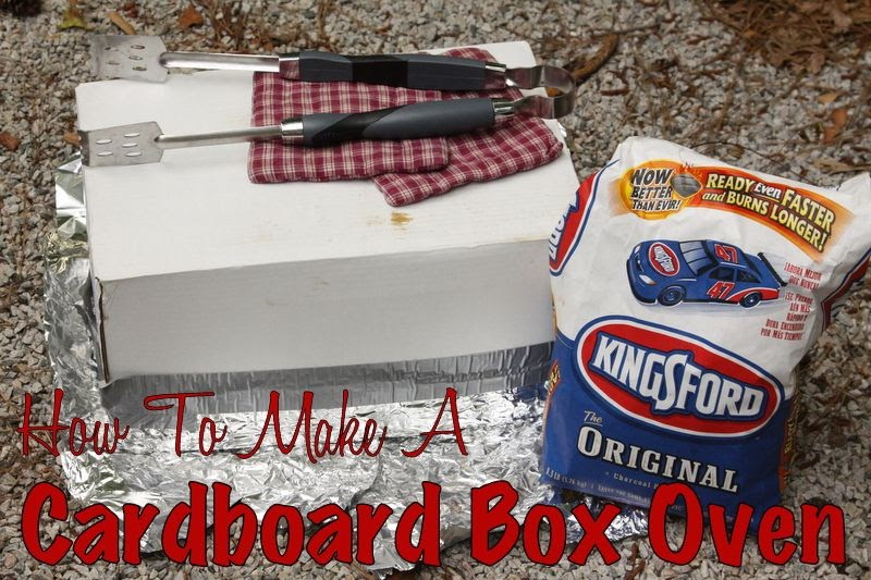 Like Mom And Apple Pie How To Make A Cardboard Box Oven